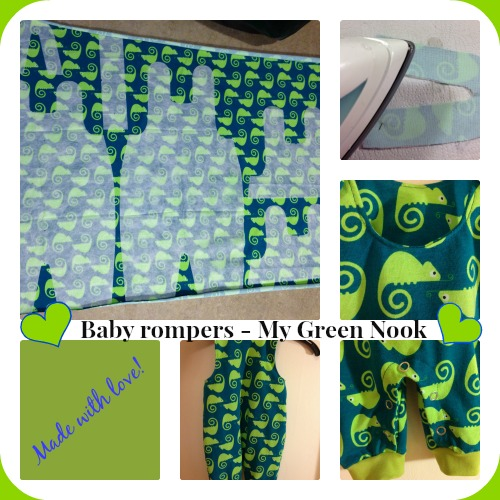 Baby rompers -My Green Nook