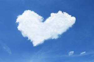 Cloud heart | My Green Nook