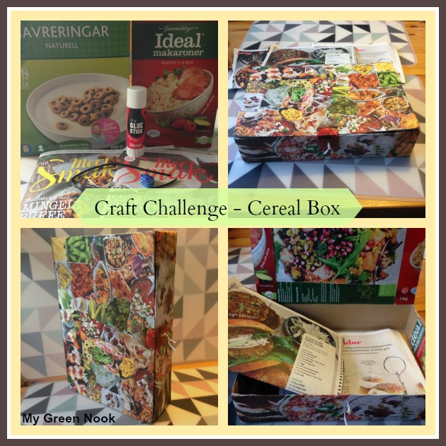 Craft Challenge - Cereal Box | My Green Nook