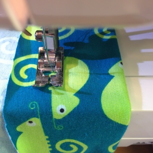 Sewing baby hat - My Green Nook