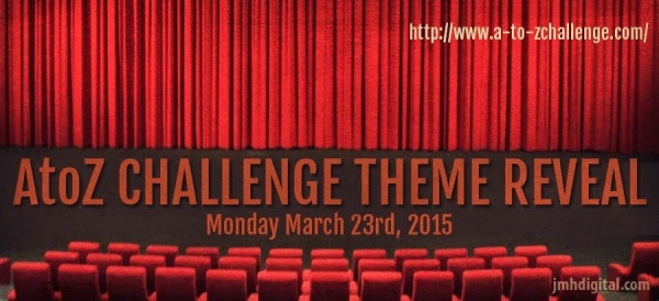 A to Z theme reveal March 23rd, 2015 | My Green Nook