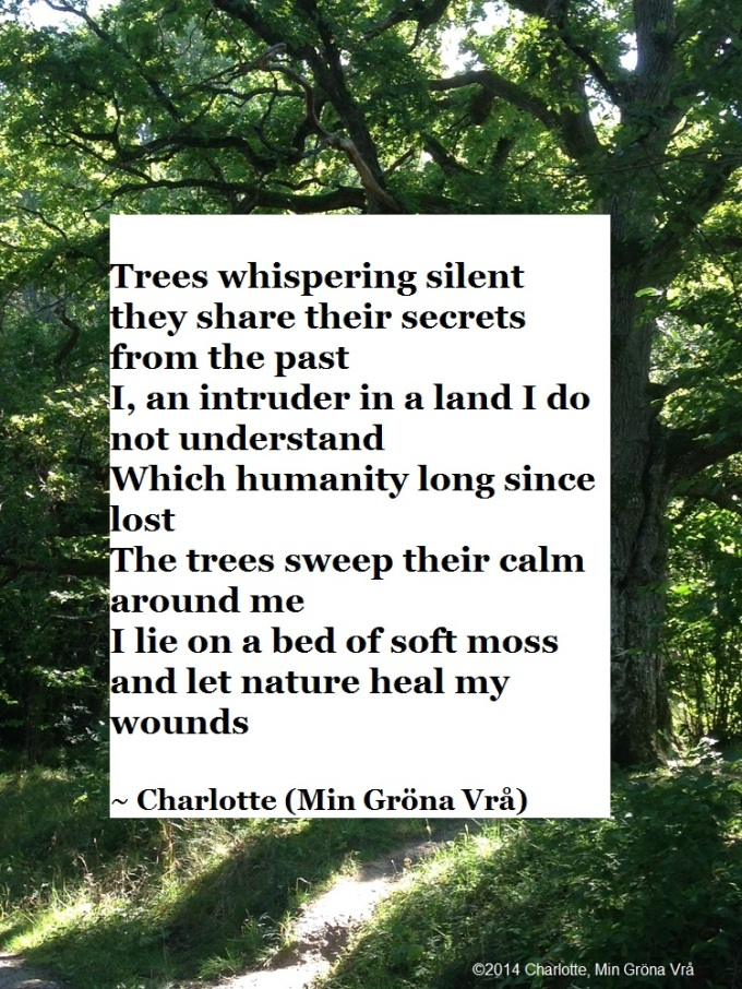 Poem by Charlotte | My Green Nook