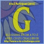 G as in Geranium. Blogging from A to Z April (2015) Challenge | My Green Nook