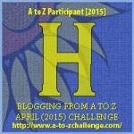 H as in Hydrangea.  Blogging from A to Z April (2015) Challenge | My Green Nook