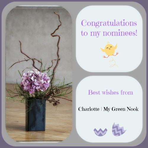 Congratulation to my nominees. Liebster Award | My Green Nook