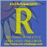 R as in Rosa. Blogging from A to Z April (2015) Challenge | My Green Nook