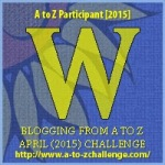 W as in Wisteria. Blogging from A to Z April (2015) Challenge | My Green Nook