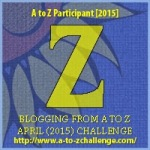 Z as in Zinnia. Blogging from A to Z April (2015) Challenge | My Green Nook