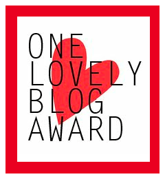 One-Lovely-Blog-Award | My Green Nook