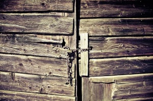 Locked door. The Awful Truth | My Green Nook